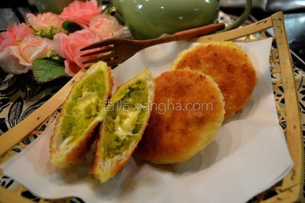 香脆南瓜土司包的做法