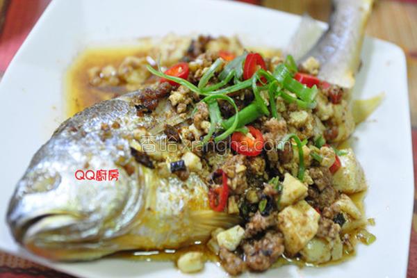 沙茶豆腐烩黄鱼的做法
