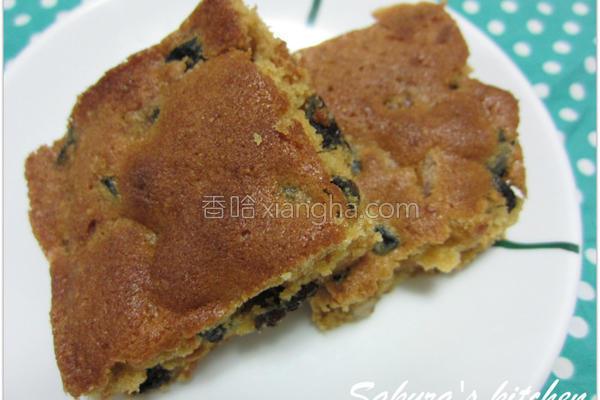 焦糖水果奶油蛋糕的做法