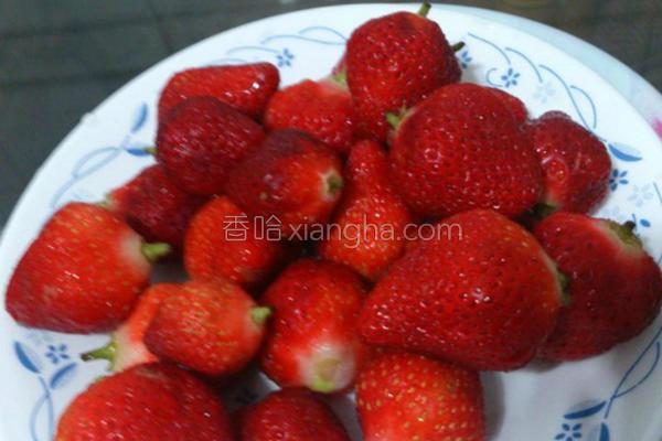 草莓甜心的做法