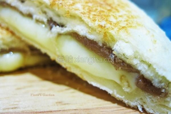 年糕三明治的做法
