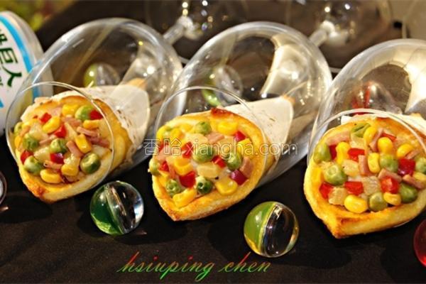 玉米薯泥甜筒卷的做法