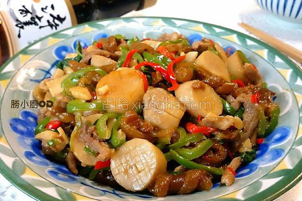 酱烧塔香杏鲍菇的做法