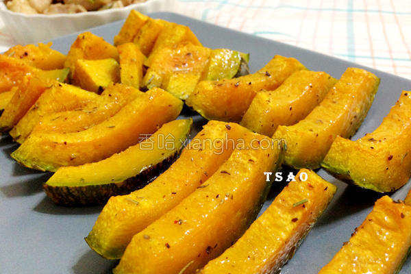 香料烤南瓜的做法