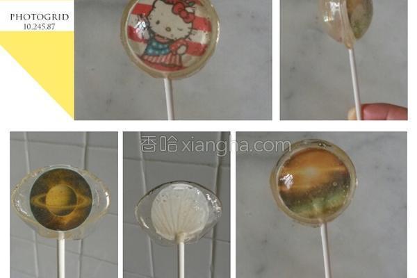 水晶棒棒糖的做法