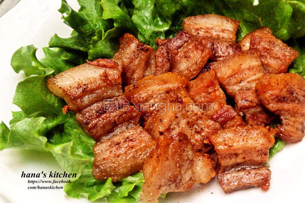 蒜香胡椒烧肉片的做法