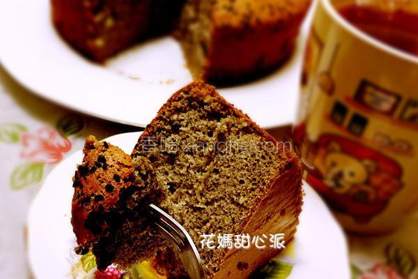 养身黑芝麻蛋糕的做法