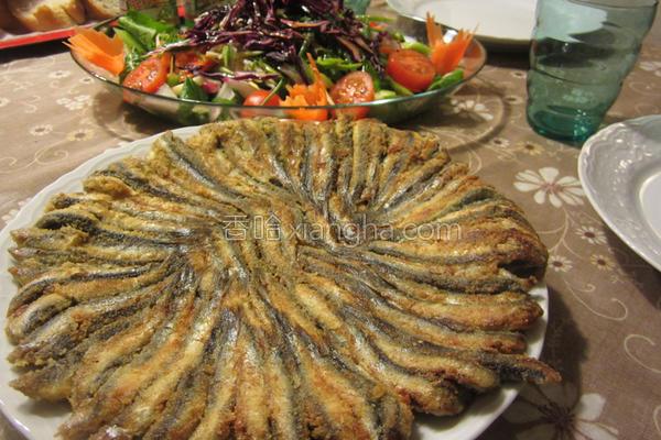 香煎鳀鱼的做法