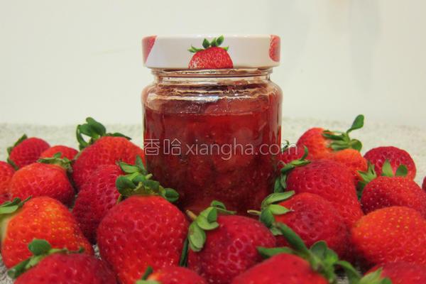 机草莓果酱的做法