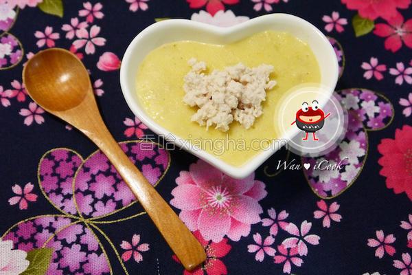玉米鸡容粥的做法