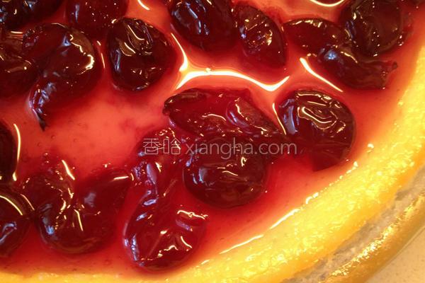 樱桃果酱起司蛋糕的做法