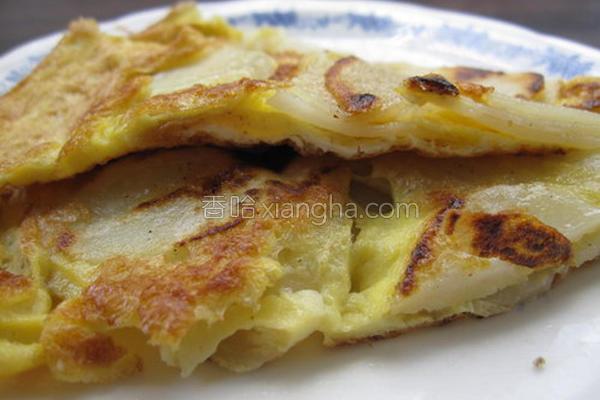 马铃薯蛋饼的做法