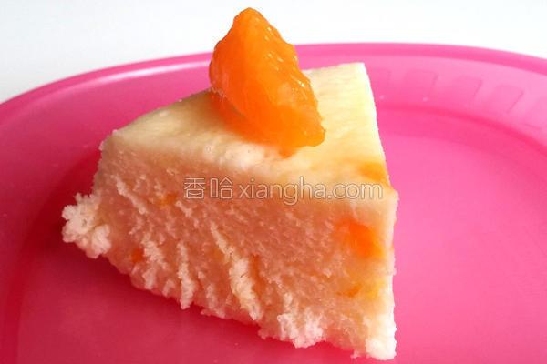 橘子味蛋白蛋糕的做法