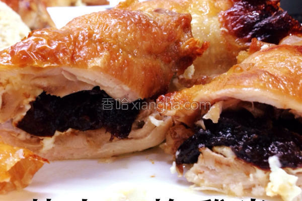 芝士西梅焗鸡卷的做法