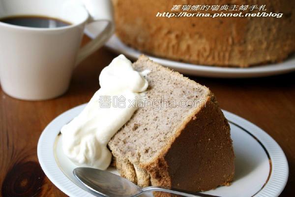 红茶戚风蛋糕的做法