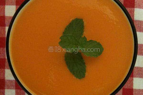 红萝卜地瓜浓汤的做法
