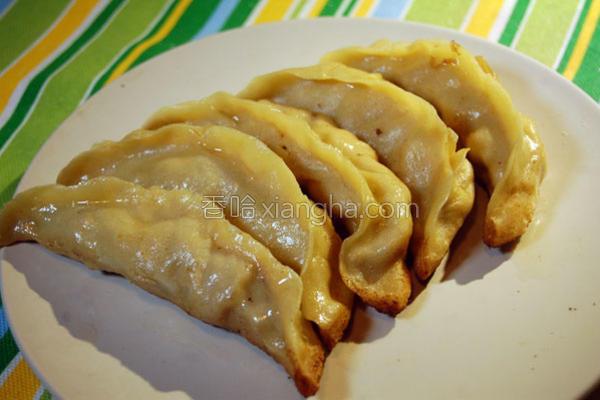 南京牛肉锅贴的做法