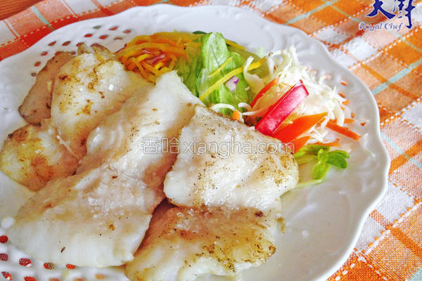 海盐料理盐煎鱼排的做法