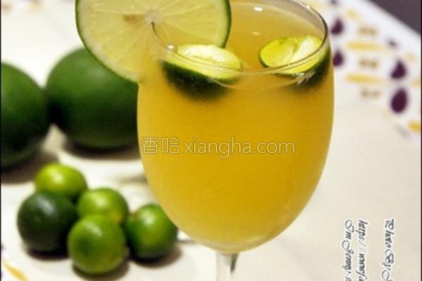金桔柠檬饮的做法