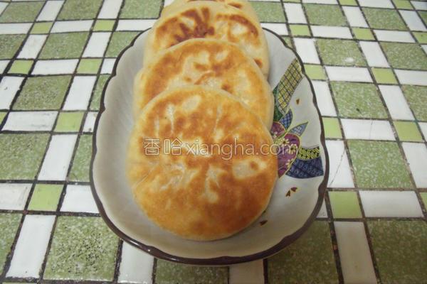 高丽菜馅饼的做法