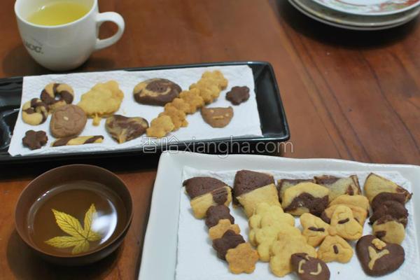餐桌手工饼干的做法