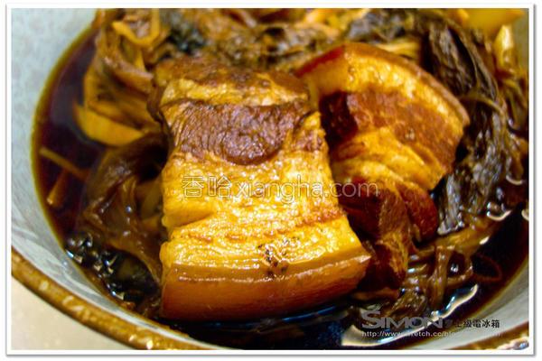梅干笋丝炖肉