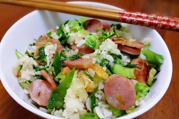 上海菜饭的做法