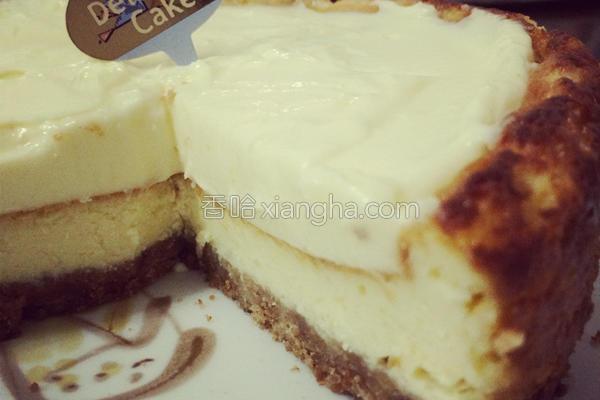 双层浓郁起司蛋糕的做法
