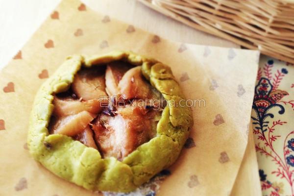 桃子开心果馅饼的做法