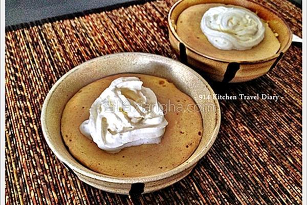 香草奶茶松饼杯的做法