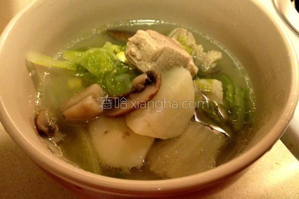 清炖马铃薯排骨汤的做法