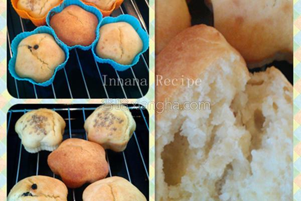 免揉免发酵面包的做法