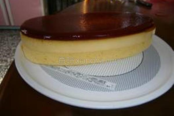 布丁蛋糕的做法