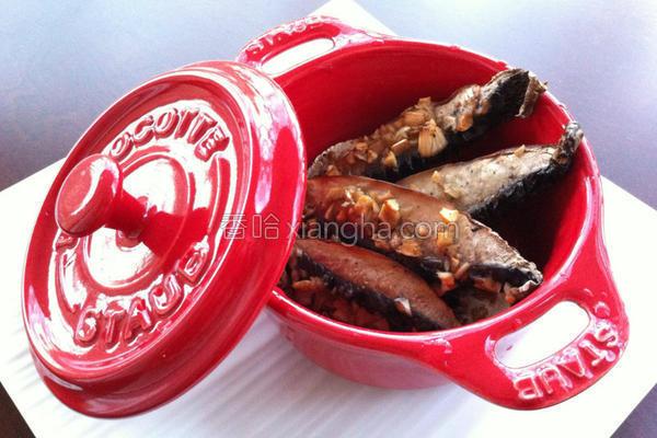 酱烤霸王菇的做法