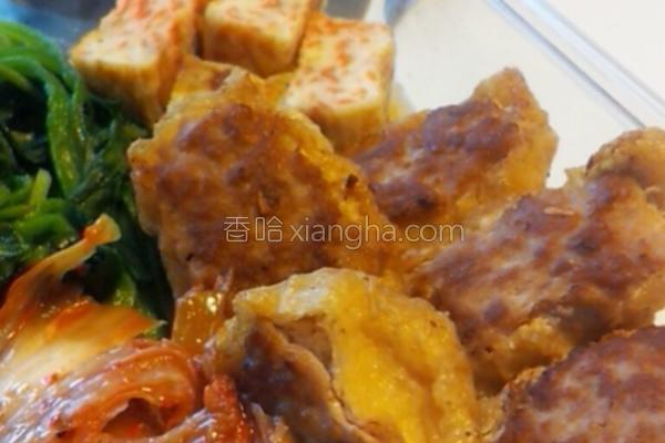 假油豆腐镶肉的做法