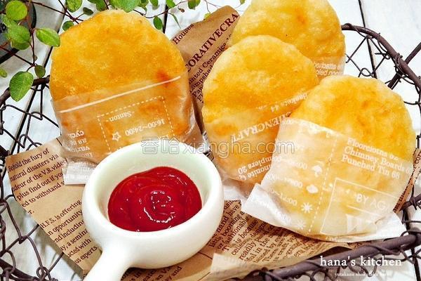 香酥起司薯饼的做法