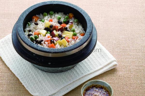 地瓜营养锅饭的做法