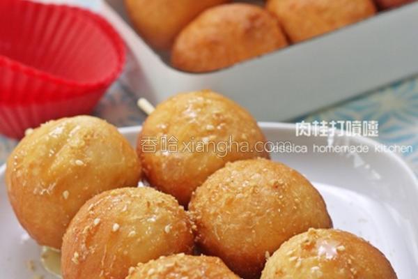 糖葫芦面包丸子的做法