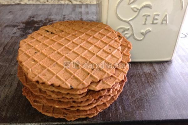 芝麻海苔薄饼的做法