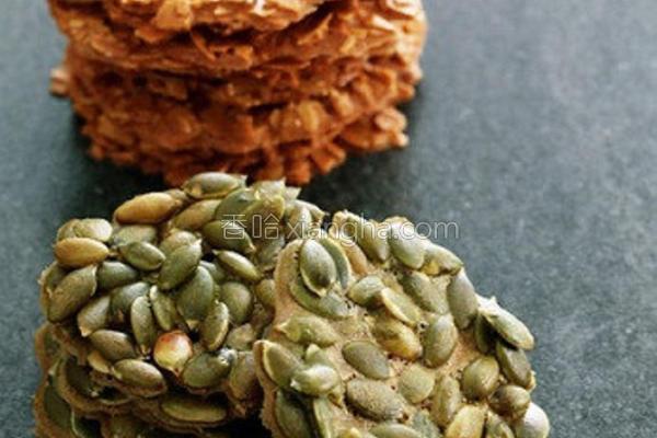 南瓜子瓦片饼干的做法