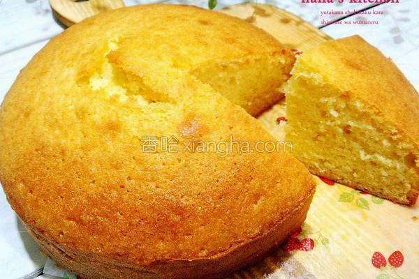 奶油蛋糕的做法