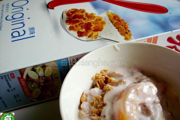 酸奶布丁麦片的做法