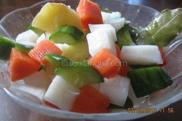广式泡菜的做法