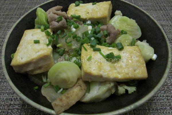 味噌烧肉豆腐丼的做法