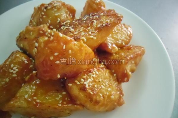 蜜茄汁马铃薯的做法