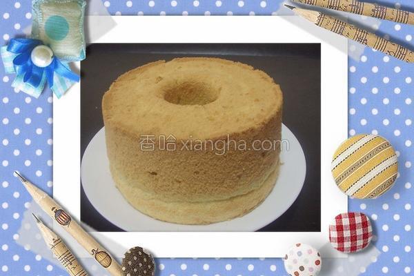 芒果戚风蛋糕的做法
