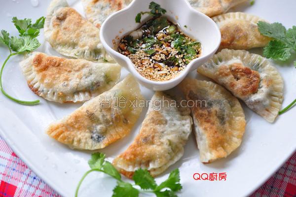 海苔时蔬煎饺的做法