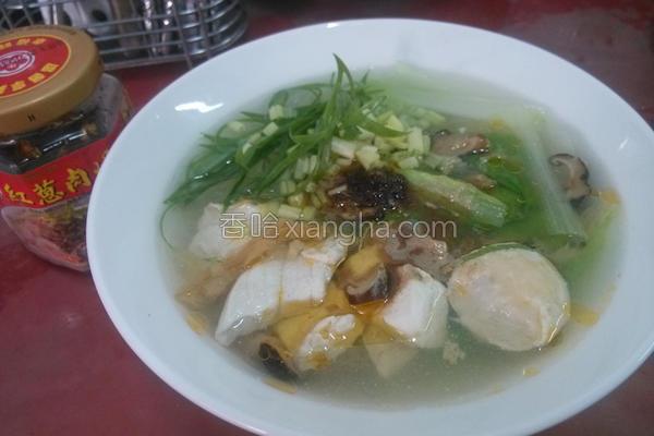 旗鱼冬粉汤的做法