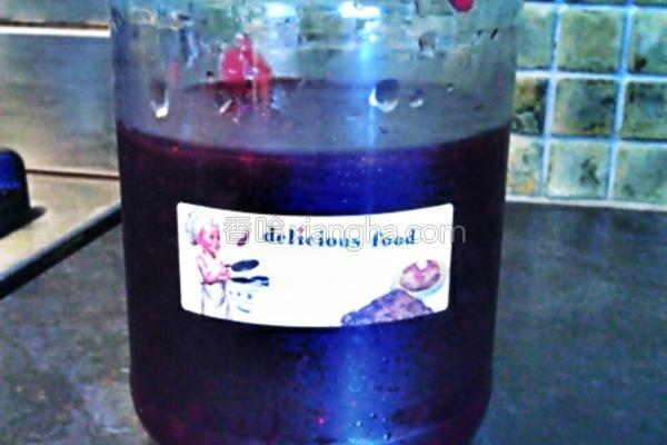 红醋栗蓝莓果酱的做法