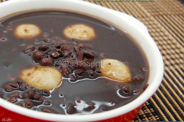 紫米红豆汤的做法